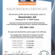 Certificate ISO9001:2008 2017